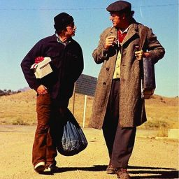 Al Pacino and Gene Hackman in SCARECROW