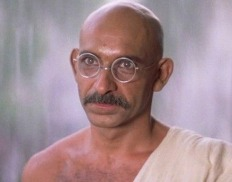 Ben Kingsley in GANDHI