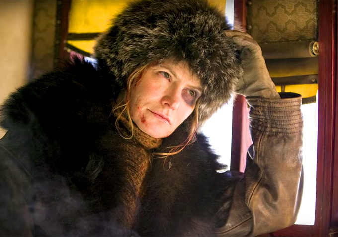 Jennifer Jason Leigh in THE HATEFUL 8