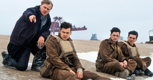Christopher Nolan directs DUNKIRK